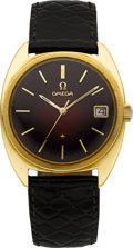 Timepieces:Wristwatch, Omega 18k Yellow Gold Constellation Chronometer Automatic WithDate, circa 1968. ...