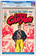 Golden Age (1938-1955):Adventure, Steve Canyon #1 File Copy (Harvey, 1948) CGC NM+ 9.6 Off-whitepages....