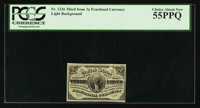 Fr. 1226 3¢ Third Issue PCGS Choice About New 55PPQ