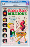 Bronze Age (1970-1979):Cartoon Character, Richie Rich Millions #49 File Copy (Harvey, 1971) CGC NM/MT 9.8Off-white to white pages....