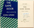 Books:Literature 1900-up, John Updike. INSCRIBED. The Same Door. New York: Knopf,1959. First edition, first printing. Inscribed by the auth...