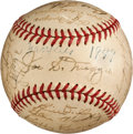Autographs:Baseballs, 1949 New York Yankees Team Signed Baseball....