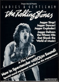 "Movie Posters:Rock and Roll, Ladies and Gentlemen: The Rolling Stones (Dragon Aire, 1973).Window Card (14"" X 19.5""). Rock and Roll.. ..."