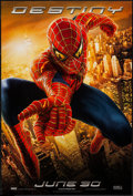 "Movie Posters:Action, Spider-Man (Columbia, 2002). One Sheet (26.75"" X 39.75"") DS AdvanceDestiny Style. Action.. ..."