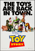 "Movie Posters:Animation, Toy Story & Other Lot (Buena Vista, 1995). One Sheets (2) (27""X 41"") DS Regular & Advance. Animation.. ... (Total: 2 Items)"