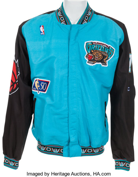 440bd7a1f 1996-98 Anthony Peeler Game Worn Vancouver Grizzlies
