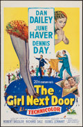 """Movie Posters:Comedy, The Girl Next Door & Other Lot (20th Century Fox, 1953). One Sheets (2) (27"""" X 41""""). Comedy.. ... (Total: 2 Items)"""