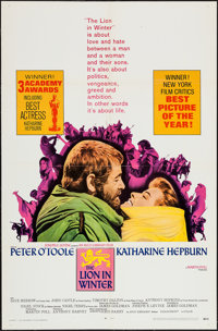 "The Lion in Winter & Other Lot (Avco Embassy, 1968). One Sheets (2) (27"" X 41""). Drama. ... (Total: 2..."