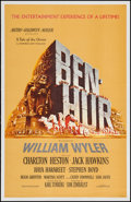 "Movie Posters:Academy Award Winners, Ben-Hur (MGM, 1959). Trimmed One Sheet (25"" X 39""). Academy AwardWinners.. ..."