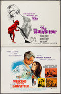 """Movie Posters:Exploitation, The Baby Sitter & Others Lot (Crown International, 1969). HalfSheets (6) (22"""" X 28""""). Exploitation.. ... (Total: 6 Items)"""