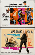 """Movie Posters:Exploitation, The Hard Ride & Other Lot (American International, 1971). HalfSheets (2) (22"""" X 28""""). Exploitation.. ... (Total: 2 Items)"""