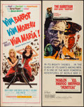 """Movie Posters:Adventure, Viva Maria! & Others Lot (United Artists, 1966). Inserts (4)(14"""" X 36""""). Adventure.. ... (Total: 4 Items)"""