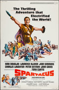 "Movie Posters:Action, Spartacus (Universal, R-1967). Poster (40"" X 60""). Action.. ..."