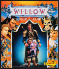 "Movie Posters:Fantasy, Willow (MGM, 1988). Panini Sticker Albums (83) (32 Pages Each, 9"" X10.5"") & Stickers (400+) (2"" X 2.5""). Fantasy.. ... (Total: 483Items)"