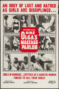 "Movie Posters:Sexploitation, Mme. Olga's Massage Parlor (American Film Company, 1965). One Sheet(27"" X 41""). Sexploitation.. ..."