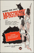 "Movie Posters:Horror, Monstrosity (Emerson, 1963). One Sheet (27"" X 41""). Horror.. ..."