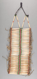 American Indian Art:Beadwork and Quillwork, A PLAINS MAN'S BREAST PLATE. c. 1890...