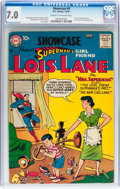 Silver Age (1956-1969):Superhero, Showcase #9 Superman's Girlfriend Lois Lane (DC, 1957) CGC FN/VF7.0 Cream to off-white pages....