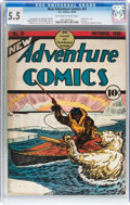 Golden Age (1938-1955):Adventure, New Adventure Comics #31 (DC, 1938) CGC FN- 5.5 Off-white to white pages....