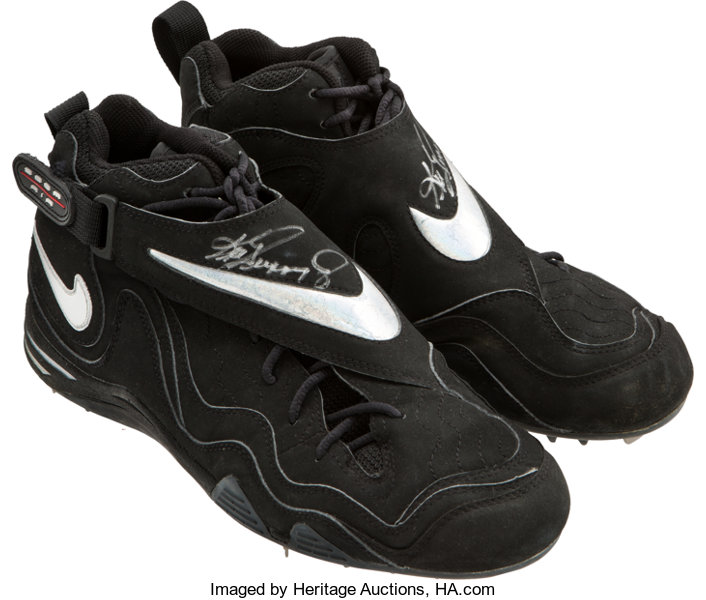 sports shoes de31c f8366 Baseball Collectibles Others, 1998 Ken Griffey, Jr. Game Worn Signed Cleats.