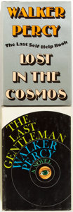 Books:Literature 1900-up, Walker Percy. Lost in the Cosmos and The LastGentleman. New York: Farrar, Straus and Giroux, [1983, 1966].... (Total: 2 Items)
