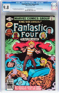 Fantastic Four Annual #14 (Marvel, 1979) CGC NM/MT 9.8 Off-white to white pages