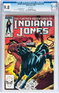 Modern Age (1980-Present):Miscellaneous, The Further Adventures of Indiana Jones #12 (Marvel, 1983) CGC NM/MT 9.8 White pages....