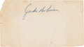 Baseball Collectibles:Others, 1953 Jackie Robinson Signed Envelope....