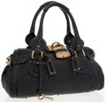 Luxury Accessories:Bags, Chloe Black Leather Paddington Shoulder Bag with Gold Hardware. ...