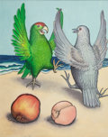 Books:Prints & Leaves, GARTH WILLIAMS (American, 1912-1996). Ride a Purple Pelican,group of ten: page 33, 35, 37, 39 and 41 original illustratio...(Total: 10 Items)