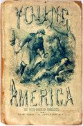 Books:Americana & American History, Fitz-Greene Halleck. Young America. New York: D. Appleton,1865. Early printing. Front hinge cracked. Heavy rubbing ...