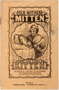 Books:Americana & American History, [Americana]. Old Mother Mitten and Her Funny Kitten. NewYork: Americana Review (Orig. Huestis & Cozans, ca. 1900?)....