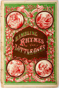 Books:Americana & American History, [Americana]. Rambling Rhymes for Little Ones. New York:McLoughlin Bros, [n.d., ca. 1880]. First edition. Part of th...