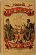 Books:Americana & American History, [Americana]. Minstrel Gags and End Men's Hand-Book. NewYork: Dick & Fitzgerald, 1875; First edition. Twelvemo. Publ...