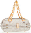 Luxury Accessories:Bags, Gucci Beige Guccissima Leather Mini Tote Bag with Gold Chain Handles. ...