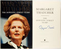 Books:Biography & Memoir, Margaret Thatcher. SIGNED. The Downing Street Years. New York: Harper Collins, [1993]. First edition, first printing...