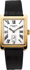 Timepieces:Wristwatch, Patek Philippe Ref. 5010 Gold Gondolo Wristwatch, circa 1990's. ...