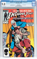Modern Age (1980-Present):Miscellaneous, Indiana Jones and the Temple of Doom #2 (Marvel, 1984) CGC NM/MT 9.8 White pages....