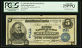 National Bank Notes:Virginia, Richmond, VA - $5 1902 Date Back Fr. 590 The First NB Ch. #(S)1111. ...
