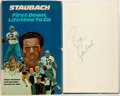 Books:Biography & Memoir, Roger Staubach. SIGNED. First Down, Lifetime To Go. Waco: Word Books, [1974]. First edition, first printing. Signe...