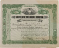 Baseball Collectibles:Others, 1903 New York Highlanders (Yankees) Stock Certificate RepresentingMajority Ownership....