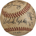 Autographs:Baseballs, 1967 St. Louis Cardinals Multi Signed Baseball (11 Signatures) -World Series Champions....