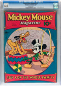 Platinum Age (1897-1937):Miscellaneous, Mickey Mouse Magazine #11 (K. K. Publications/ Western PublishingCo., 1936) CGC FN 6.0 Off-white pages....