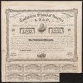 Confederate Notes:Group Lots, Ball C240B Cr. X-122C Counterfeit $1000 Bond 1863.. ...