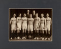 Basketball Collectibles:Photos, 1906 University of Minnesota Basketball Imperial Cabinet Photograph- First Big 10 Champions....