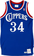 Basketball Collectibles:Uniforms, 1987-89 Reggie Williams Game Worn Los Angeles Clippers Jersey. ...