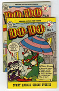 Golden Age (1938-1955):Funny Animal, Do-Do #5 and 6 Group (Nationwide Publications, 1950) Condition:Average VG-.... (Total: 2 Comic Books)