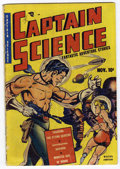 Golden Age (1938-1955):Superhero, Captain Science #1 (Youthful Magazines, 1950) Condition: GD....