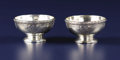 Silver Holloware, American:Open Salts, A Pair of American Silver Open Salts. Tiffany & Co., New York,New York. Circa 1917. Silver. Marks: TIFFANY & CO,, 19316...(Total: 2 Items)