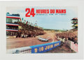 Transportation:Automobilia, Original Event Poster for the 1973 24 Heures Du Mans ...